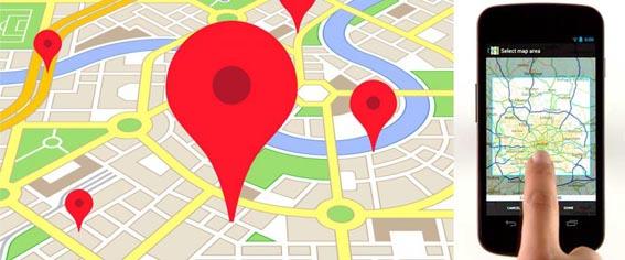 mappa+google+smartphone